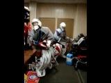 Хоккей танцы вратарей )) При участии Колика Григорьева